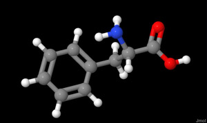 The amino acid phenylalanine from A Dash of Science.com